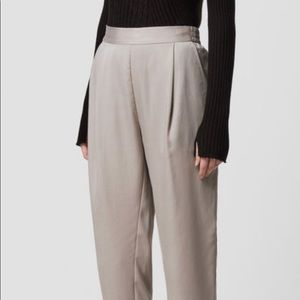 All Saints Elastic High Waisted Trousers